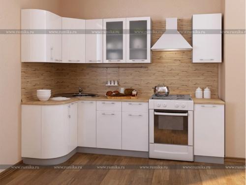 Кухня Мечта глянец белый
