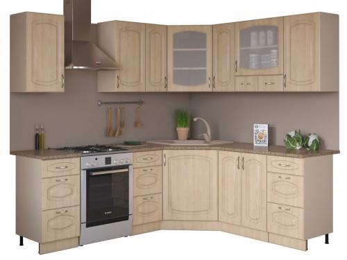Угловая кухня Паула 1650х1850