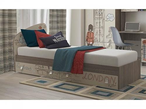 Кровать с ящиками Лондон
