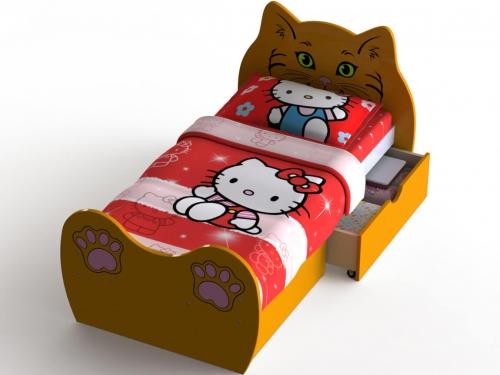 Кровать Кошечка