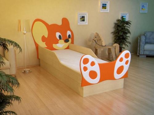 Кровать Мышонок МДФ