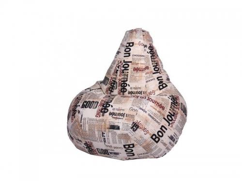 Кресло-мешок Газета