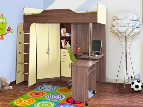 Кровать-чердак Бриз-1
