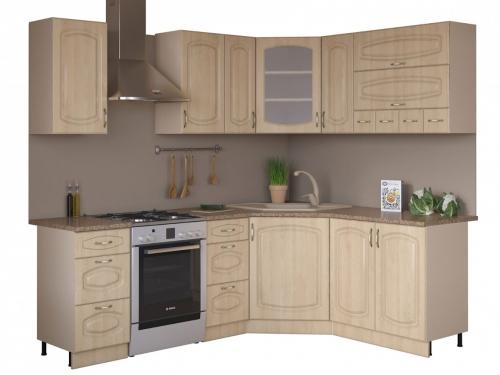 Угловая кухня Паула 1650х1650